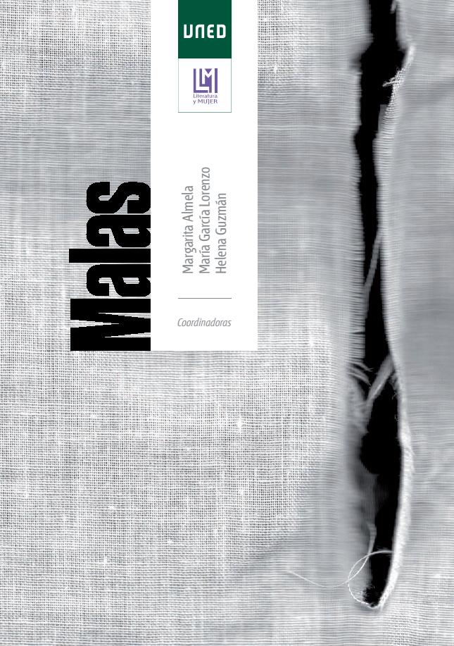Olga Simón, Malas, Cover, Portada, book, UNED, feminism, feminismo, art, arte, visual artist, artista visual