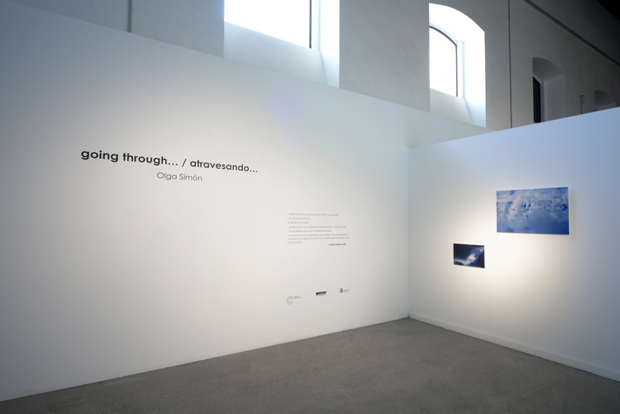 Olga Simón, going through, atravesando. exhibition exposición, Las cigarreras, Alicante  art arte, 2016 ,Jardín polar, Polar garden, Tears 2015, Lágrimas 2015, installation, instalación,